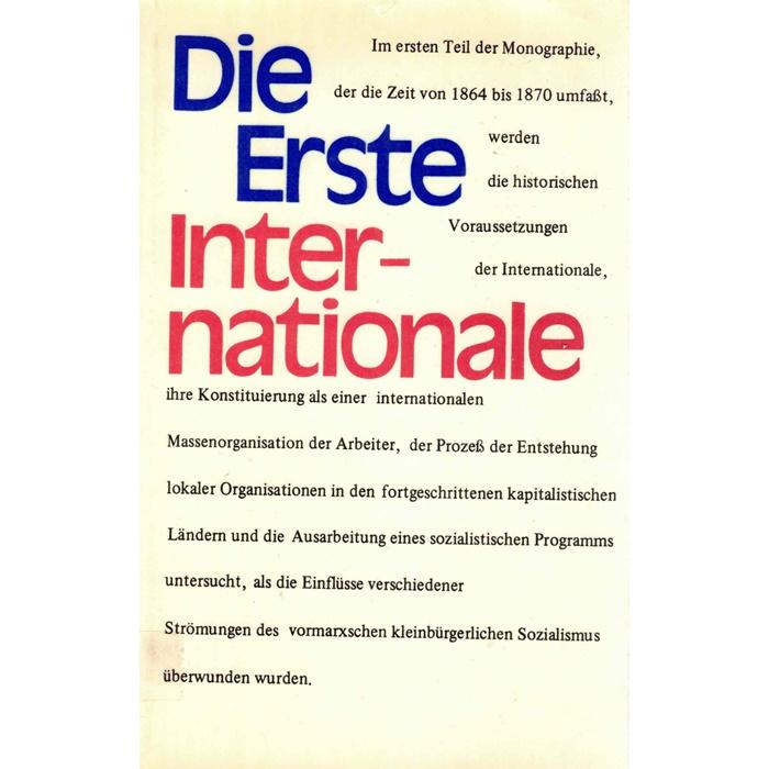 Die Erste Internationale