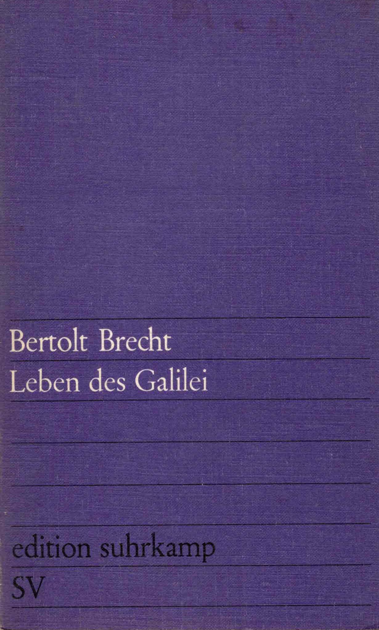 Brecht Leben des Galilei